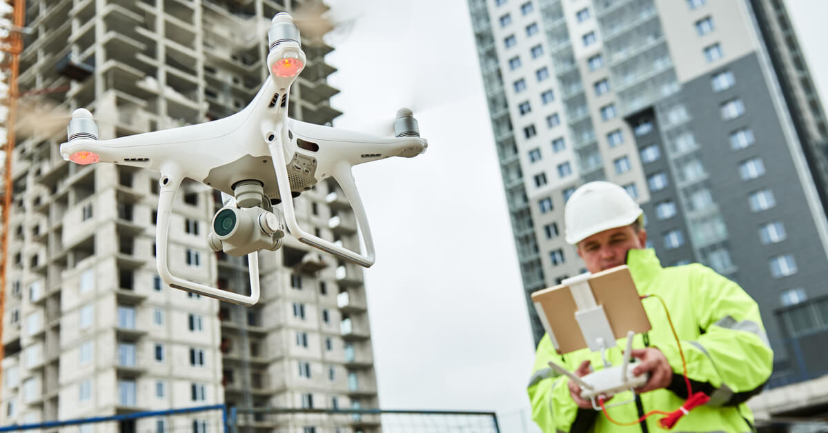 construction drones and technology