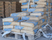 storing bagged cement
